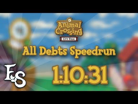 Animal Crossing: City Folk - All Debts Speedrun in 1:10:31 [PB]
