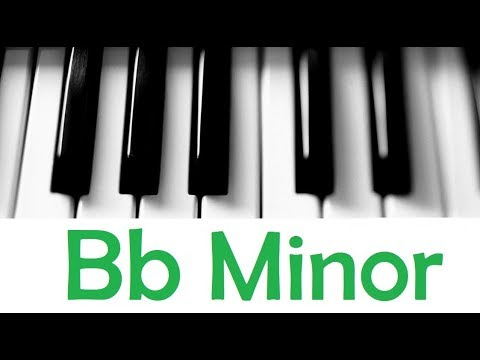 Bb Minor Scale Chords All Scales Chords Tutorial 22 Youtube