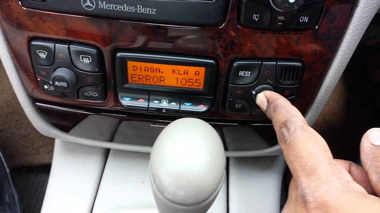 Part 7 7 Mercedes S Class S320 W220 Petrol Resetting Ac Youtube