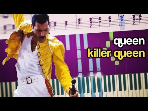 How To Play The Piano Part Of Killer Queen (with Sheets)