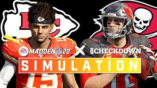 A Super Bowl Preview? 8-2 Chiefs vs. 9-2 Bucs Full Game | Madden 2020 Season Simulation