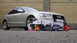 Audi A5 S-line 2015: звуковой апгрейд.