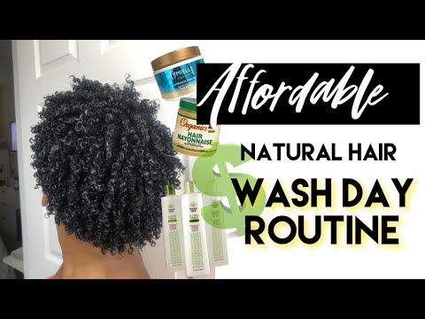 $35 Curly Hair Routine  6 Product  Wash + Style Day