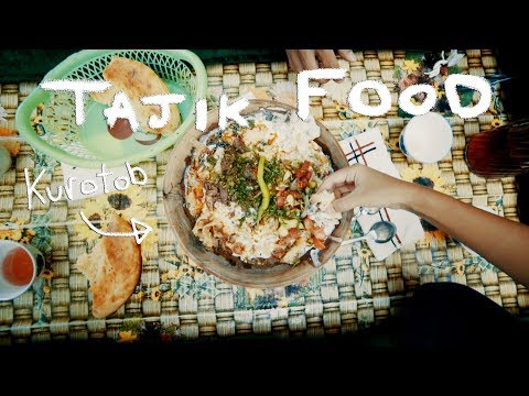 Tajik Food - Osh and Kurotob