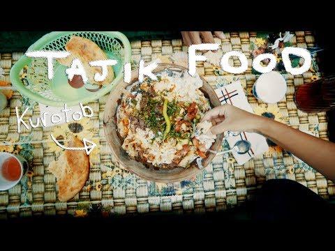 Tajik Food - Osh and Kurotob