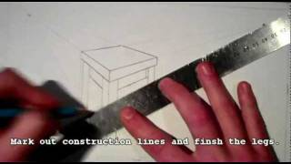 Drawing A Coffee Table