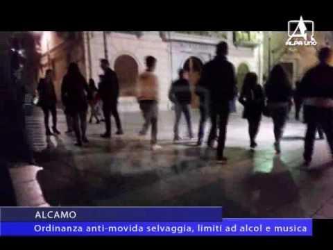 ALCAMO Ordinanza anti movida selvaggia, limiti ad alcol e musica