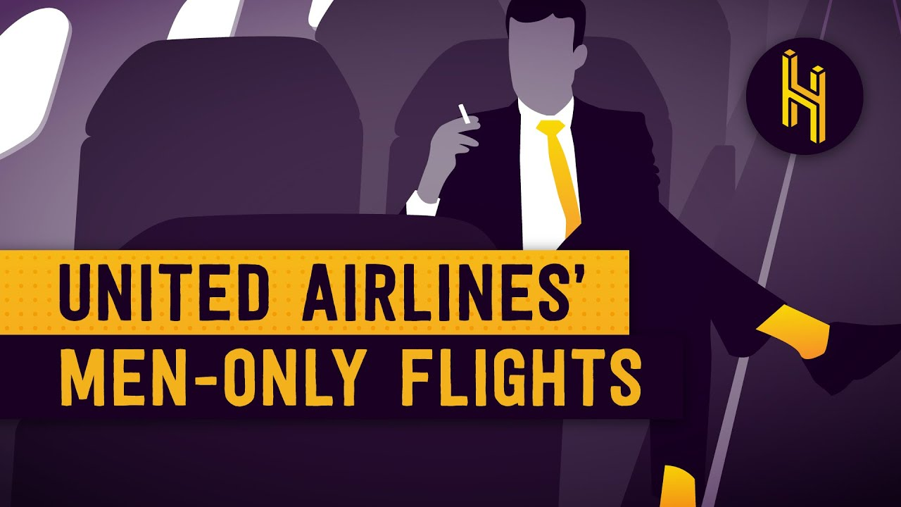 United Airlines' Men-Only Flights