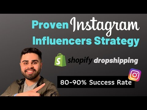 How To Find And Be Profitable From Instagram Influencers | Shopify Dropshipping 2020 thumbnail