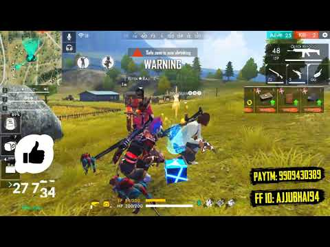 2 AWM Play Like Hacker in Solo vs Squad Match - Garena Free Fire- Total Gaming from YouTube · Duration:  13 minutes 45 seconds