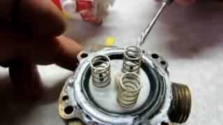 РемонтTermet газ колонкаЗамена реставрация резиновая мембрана\restoration rubber membrane(, 2016-06-22T15:40:54.000Z)