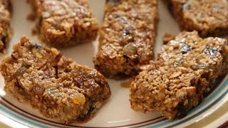 Homemade Granola Bars | Easy & Quick Snack Recipe | Kiddie's Corner With Anushruti