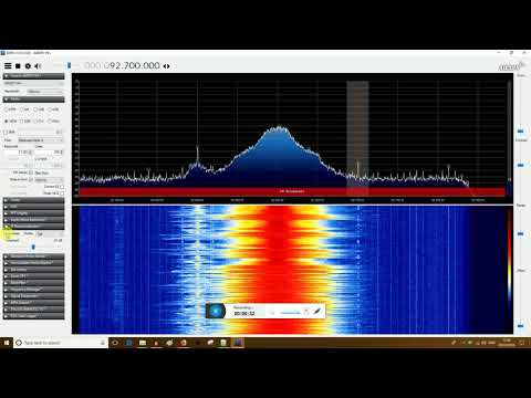 Airspy HF+ SDR - selectivity check next to local