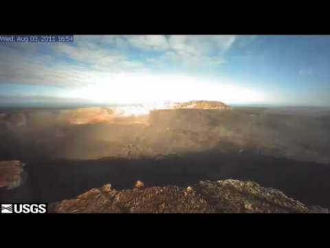 Hawaii Volcano update -- Dramatic Pu