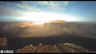 Hawaii Volcano update -- Dramatic Pu