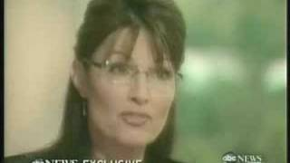 Sarah Palin 20/20 ABC Interview With Charlie Gibson Part 3/4