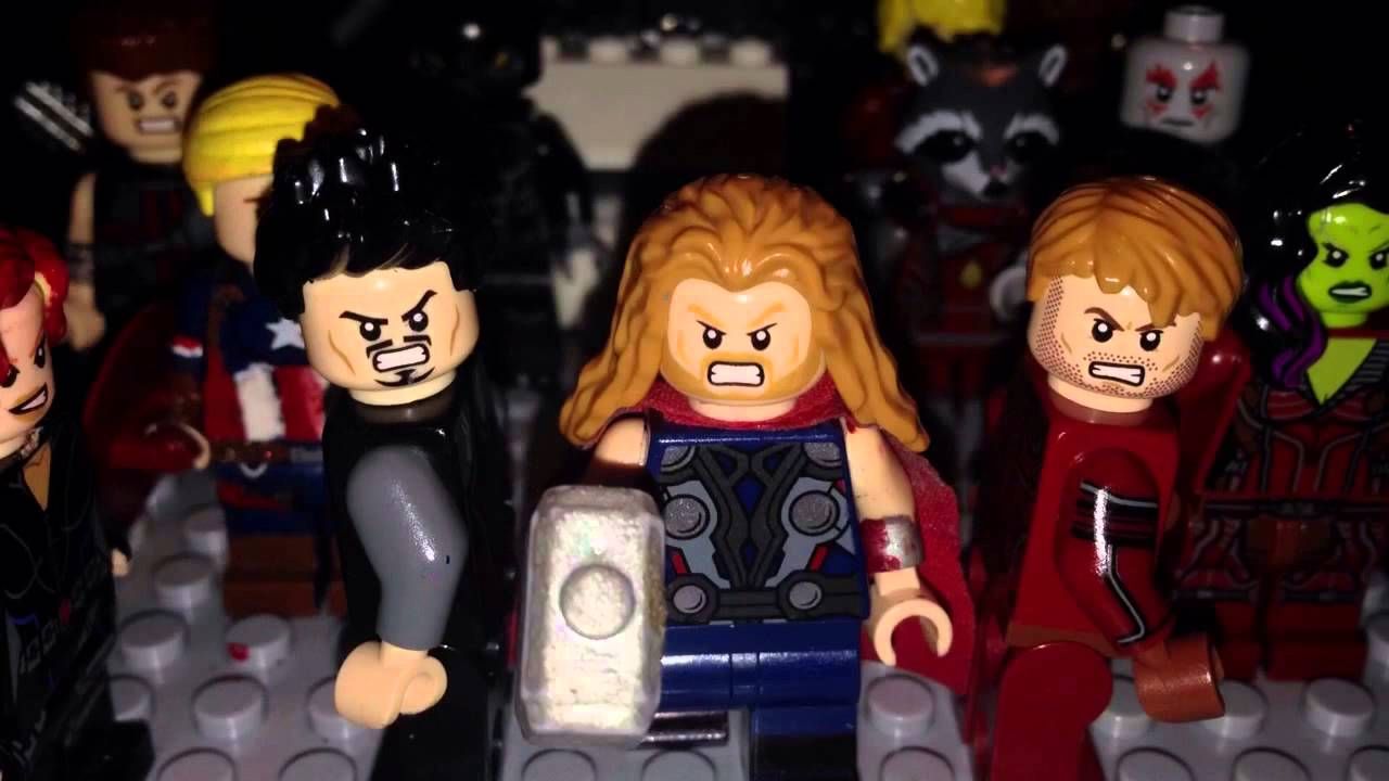 lego avengers infinity war teaser trailer - youtube