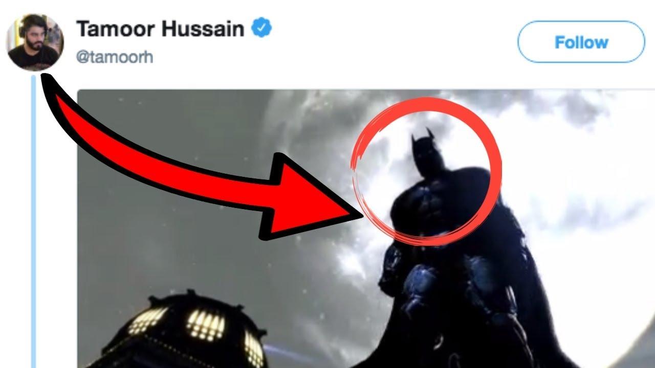 GAMESPOT EDITOR TEASES BATMAN GAME REVEAL @ E3 - YouTube