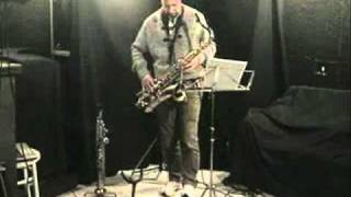 Marcello Carro - Sax Solo with Loop Station - Live Online 28th Nov 2010 - Funk Impro