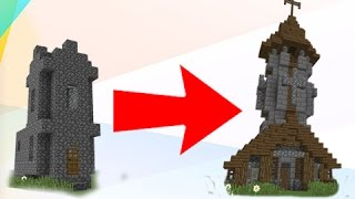 How To TRANSFORM - Minecraft Village Church!
