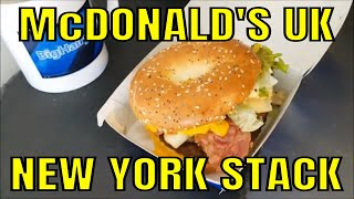 McDonald's UK - New York Stack - Great Tastes of America