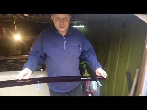 Как установить мухобойку на ваз 2110