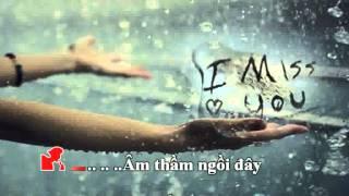 Karaoke: Thương Nhớ Trong Mưa - Lời Việt: Trường Kỳ (Song Ca Cho Nam)