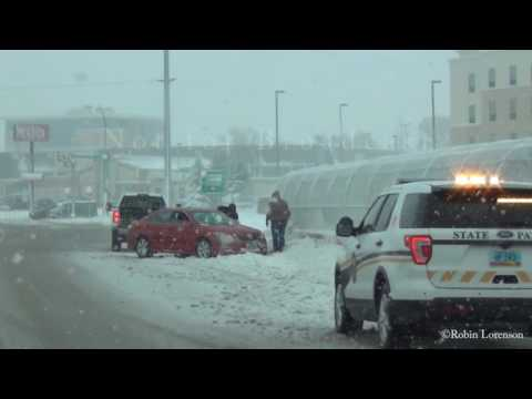 11/28/2016 Bismarck ND Snow Storm