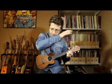 Here Comes The Sun (The Beatles) Performed By Ukulele Teacher Cliff Smith