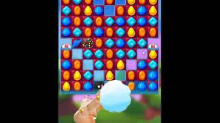 Candy Crush Friends Saga Level 496 - NO BOOSTERS 👩👧👦   SKILLGAMING ✔️