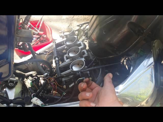 2001 GSXR Motorcycle K1