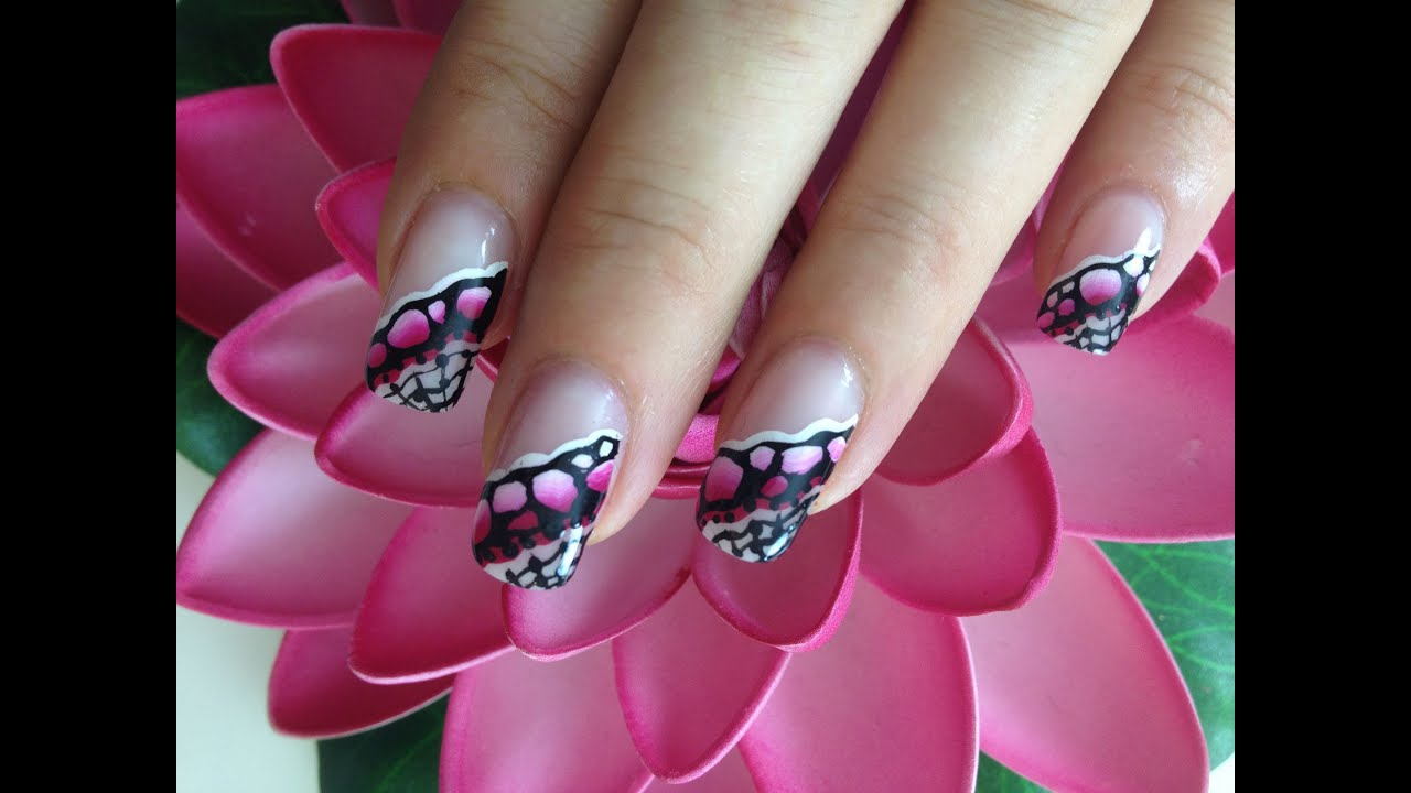 Request one stroke nailart stones in pink and white with request one stroke nailart stones in pink and white with paintings youtube prinsesfo Image collections