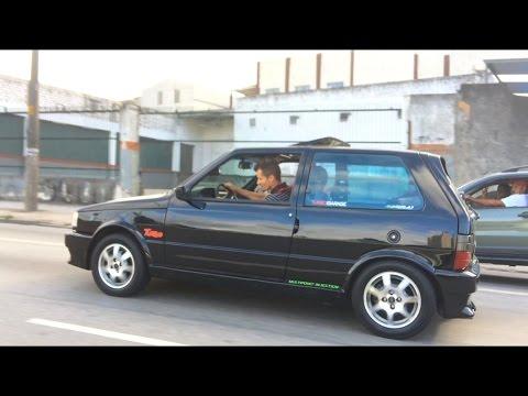 Uno Turbo 1994 acelerando