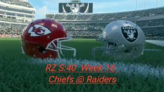 RZ S:40 Week16 Chiefs at Raiders Highlights