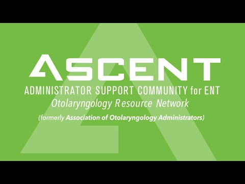 About the Association - Administrator Support Community for ENT