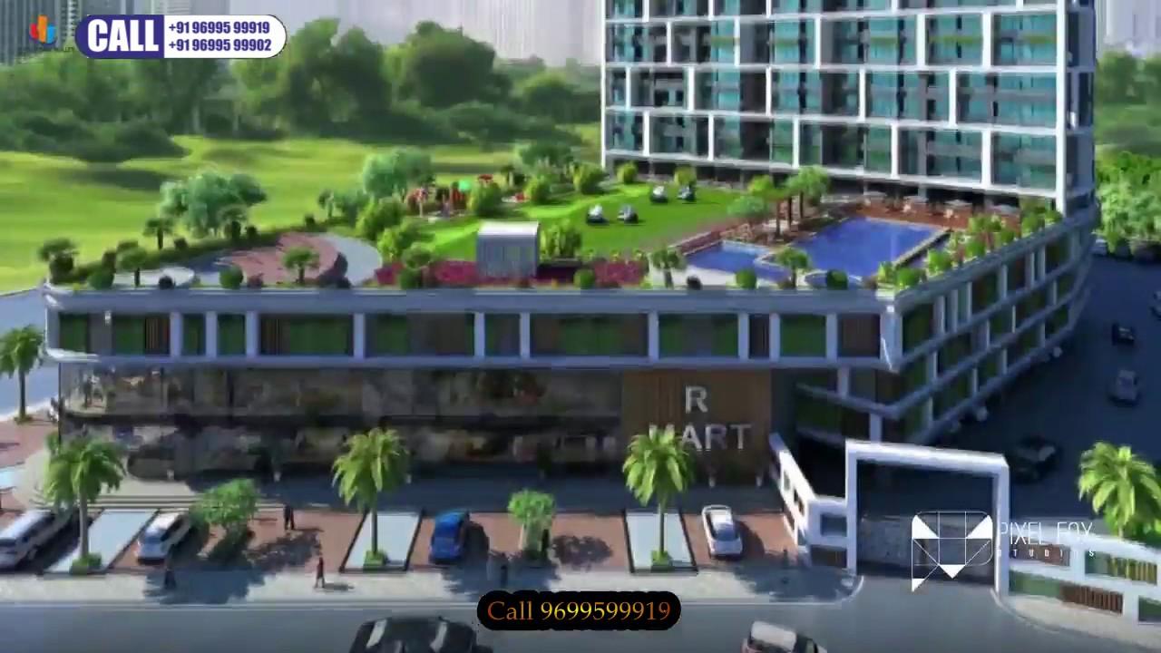 2bhk 3bhk Airoli Sunteck Signia Waterfront In Airoli Navi Mumbai