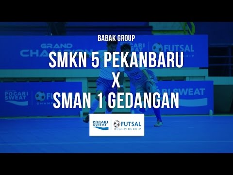 SMKN 5 Pekanbaru VS SMAN 1 Gedangan - Pocari Sweat Futsal 2016 - Group Stage