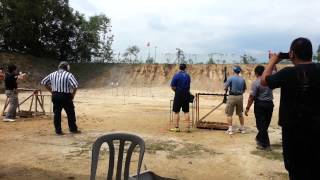 IPSC 26th Jan 2013 Shotgun Man to man challenge