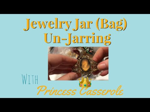 Jewelry Jar Unjarring | Jewelry Jar Unboxing (2018)