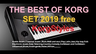 KorgStyle &THE BEST OF KORG SET 2019 free