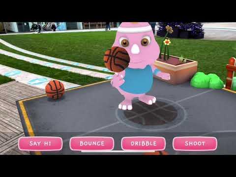 Squishy AR In App Footage