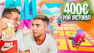 400€ por VICTORIA en FALL GUYS ¡en LA FINAL TODO SE DESCONTROLA...!!