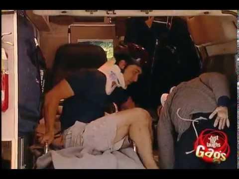 Clumsy Paramedics Prank