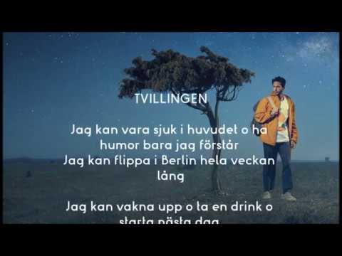 2 TVILLINGEN by Darin 2017 SONG LYRIC