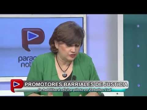 Paraguay TV entrevista Noticierio del mediodia