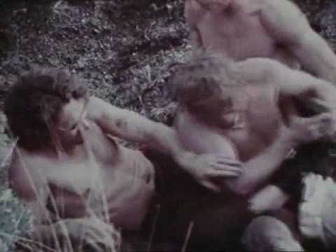 """Andy Warhol's """"Lonesome Cowboys"""" wrestling scene"""