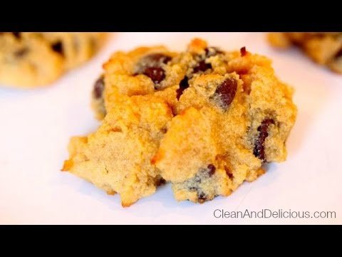 Coconut Flour Chocolate Chip Cookie Recipe (Gluten-Free!) Healthy Holiday Treats