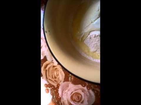 Яблочный пирог с белым