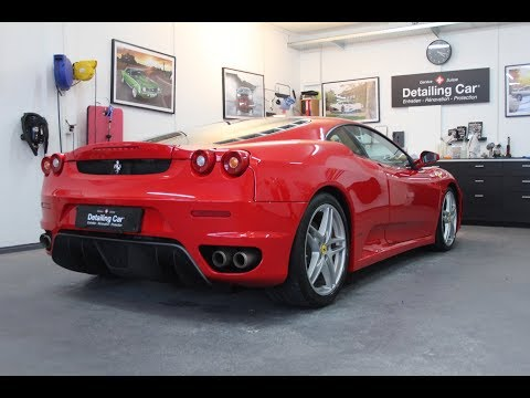 Detailing Car - Ferrari F430