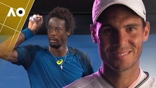 Battle thoughts: Monfils v Nadal (4R) | Australian Open 2017